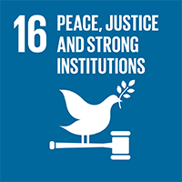 16.PEACE, JUSTICE AND STRONG INSTITUTIONS