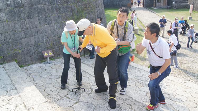 「旅リハ沖縄!4日間」の様子