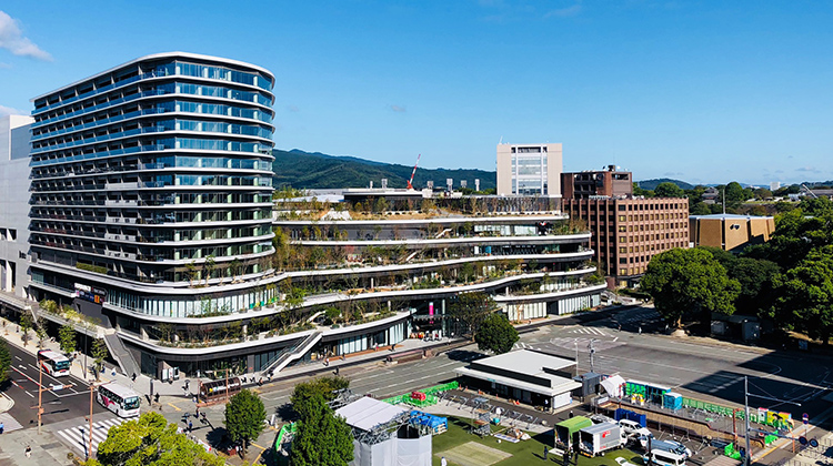 A view of SAKURA MACHI Kumamoto