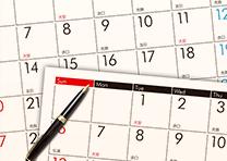 IRカレンダー(イメージ)